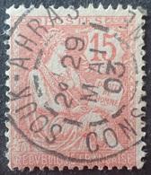R1537/156 - TYPE MOUCHON - N°125 ☉- SUPERBE CàD D'ALGERIE / SOUK-AHRAS / CONSTANTINE / 29 MAI 1903 - France