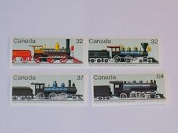 CANADA  1984  LOT# 15  STEAM  LOCOMOTIVES - Trains