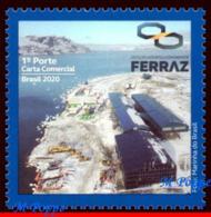 Ref. BR-V2020-01 BRAZIL 2020 SCIENCE, ANTARCTIC STATION, COMMANDER FERRAZ, PROANTAR, MOUNTAIN,MNH 1V - Forschungsstationen
