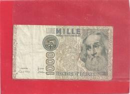 BANCA D'ITALIA . 1.000 LIRE . MARCO POLO . N° AD 032050 D . 2 SCANES - [ 2] 1946-… : République