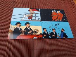 TinTIN Set 4 Phonecards (Mint,Neuve)2 Scans Very  Rare - Comics