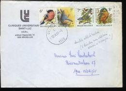 [H1008] België - Vogels - Oiseaux - André Buzin - Brief - Lettre - Met Stempel Brussel + Stempel Overijse - 1985-.. Vögel (Buzin)