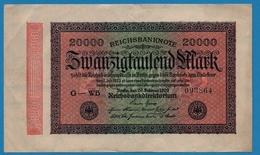 DEUTSCHES REICH 20000 Mark20.02.1923# G-WB 093864 P# 85b - [ 3] 1918-1933 : República De Weimar