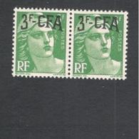 REUNION1949-52:Yvert294mnh** Pair - Isola Di Rèunion (1852-1975)