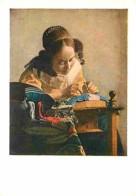 Art - Peinture - Jan Van Der Meer Ou Vermeer De Delft - La Dentellière - Voir Scans Recto-Verso - Paintings