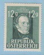 J.P.S. 4 - Timbre - Autriche - Compositeur - Schubert - 08 - - Musique