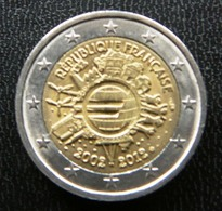 France  -  Frankrijk    2 EURO 2012   10 Years Euro      Speciale Uitgave - Commemorative - France