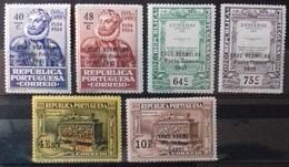 PORTUGAL Timbres De FRANCHISE 1927 Cote 9 € N° 26 à 31. Neufs * (MH). Série Complète De 6 Valeurs Surchargées. TB - Ungebraucht