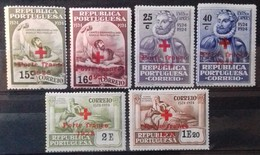 PORTUGAL Timbres De FRANCHISE 1928 Cote 9 € N° 32 à 37. Neufs * (MH). Série Complète De 6 Valeurs Surchargées. TB - Ungebraucht
