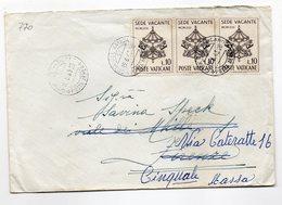 LAB770 - STATO VATICANO, Lettera Del 19/6/1963  (M2200)  Sede Vacante - Covers & Documents