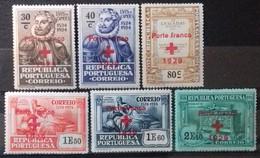 PORTUGAL Timbres De FRANCHISE 1929 Cote 9 € N° 38 à 43. Neufs * (MH). Série Complète De 6 Valeurs Surchargées. TB - Ungebraucht