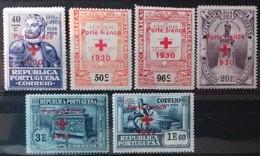 PORTUGAL Timbres De FRANCHISE 1930 Cote 9 € N° 44 à 48 A. Neufs * (MH). Série Complète De 6 Valeurs Surchargées. TB - Ungebraucht