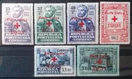 PORTUGAL Timbres De FRANCHISE 1931 Cote 9 € N° 49 à 54. Neufs * (MH). Série Complète De 6 Valeurs Surchargées. TB - Ungebraucht