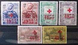 PORTUGAL Timbres De FRANCHISE 1933 Cote 12 € N° 65 à 70. Neufs * (MH). Série Complète De 6 Valeurs Surchargées. TB - Ungebraucht