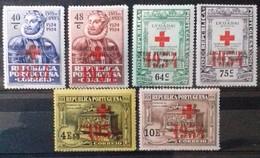 PORTUGAL Timbres De FRANCHISE 1933 Cote 18 € N° 71 à 76. Neufs * (MH). Série Complète De 6 Valeurs Surchargées. TB - Ungebraucht