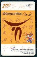 China Phonecard Y 20+2 - Gymnastics / Kunstturnen / Gymnastique / Gymnastiek / Ginnastica / Гимнастика - Sport