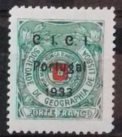 PORTUGAL Timbres De FRANCHISE 1933 Cote 22 € N° 76 A. Neufs * (MH). SOCIETE DE GEOGRAPHIE DE LISBONNE. TB - Ungebraucht
