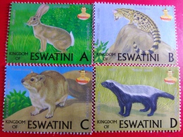 Eswatini New Stamps & Souvenir Sheet (Animals) - Swaziland (1968-...)
