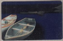 GREECE - Boats, Magnetic Transparent Card - Non Classificati