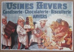 Usine Gevers - Candiserie - Chocolaterie - Biscuiterie - Anvers - Werbung