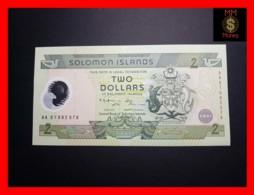 SOLOMON 2 $  2001 P. 23 *COMMEMORATIVE* Polymer  UNC - Solomon Islands
