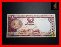 SOMALIA 5 Shilin Soomaali 1975 P. 17  AU - Somalia