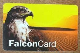 DANEMARK DENMARK FALCON CARD FAUCON OISEAU CARTE TÉLÉPHONIQUE À CODE PRÉPAYÉE PAS TELECARTE - Eagles & Birds Of Prey