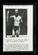 """Nouveau Fusil à Harpon En Bois """" Le Nautilus""""  100 Mètres-seconde - Coupure De Presse(encadré Photo) 1937 - Plongée"""