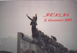QA - Berlin - 9 November 1989 ( 2  Cartes ) - Berlin Wall