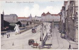 QA - Dresden - Prager-Strasse / Konigin Carola-Brucke ( 2 Cartes) - Dresden