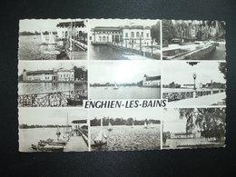 CP ENGHIEN LES BAINS Le Casino Le Lac Le Parc TP SEMEUSE 0,20 OBL.MEC.18-7 1960 MONTMORENCY (95) - Enghien Les Bains