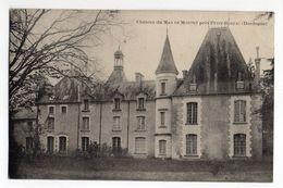 PETIT-BERSAC  --  Chateau Du   MAS DE MONTET   ....................................à Saisir - France