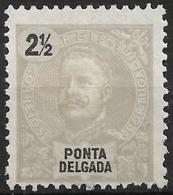 Ponta Delgada – 1897 D. Carlos 2 1/2 Réis - Ponta Delgada