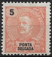 Ponta Delgada – 1897 D. Carlos 5 Réis - Ponta Delgada