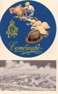 CPA   Carte Publicitaire Publicita Advertising Monza  Lana Capelli  Cambiaghi  Illustrator - Advertising