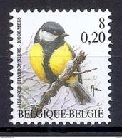 BELGIE * Buzin * Nr 2966 * Postfris Xx * HELDER FLUOR  PAPIER - 1985-.. Oiseaux (Buzin)
