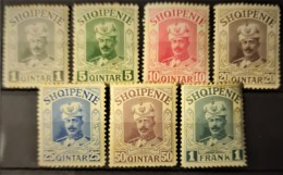 ALBANIA 1914 - MLH - Mi IIa-g - Fürst Wilhelm - Albanien
