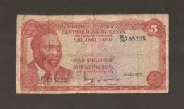 KENIA 5 SHILLINGS 1977 (W44) - Kenia
