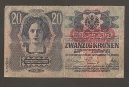 AUSTRO UNGARICO 20 KRONEN 1913 (W96) - Austria