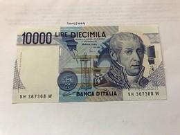Italy Volta Uncirculated Banknote 1984 #10 - [ 2] 1946-… : Républic