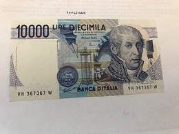 Italy Volta Uncirculated Banknote 1984 #9 - [ 2] 1946-… : République