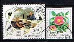 FINLANDE / Oblitérés/Used/1994 - Centenaire De La Fédération Des Fonctionnaires Des Postes, Fleurs/Rose De Carelie - Gebraucht