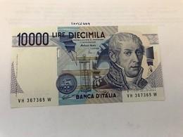 Italy Volta Uncirculated Banknote 1984 #7 - [ 2] 1946-… : Républic