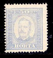 ! ! Horta - 1892 D. Carlos 50 R (Perf. 12 3/4) - Af. 06 - MH - Horta