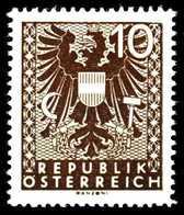 ÖSTERREICH 1945 Nr 702II Postfrisch S8CC4CA - 1945-.... 2. Republik