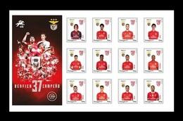 Portugal 2020 Football Club Benfica - 37 Primeira Liga Titles MNH ** - 1910-... République