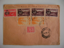 ROMANIA - LETTER SENT TO RIO DE JANEIRO (BRAZIL) IN 1948 (?) IN THE STATE - Covers & Documents