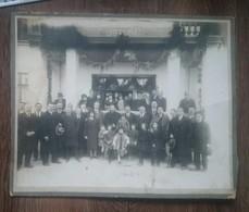 Romania Iasi Epitropia Casei Sf.Spiridon Orfelinat / Foto Pe Carton - Roumanie