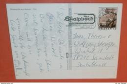 ÖSTERREICH 2510 FM Aufdruck - 29.03.2007 + SST - AK: Alpach - Mehrbildkarte -- Brief Postcard (2 Foto)(60617) - 1945-.... 2ème République