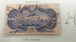 Lot N° TH.349. FRANCE Coll. De Poste Aerienne Obl. Dont P.A. 15 ( 50 Fr Burelé ) - Timbres